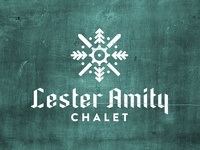 Lester Amity Chalet - Logo