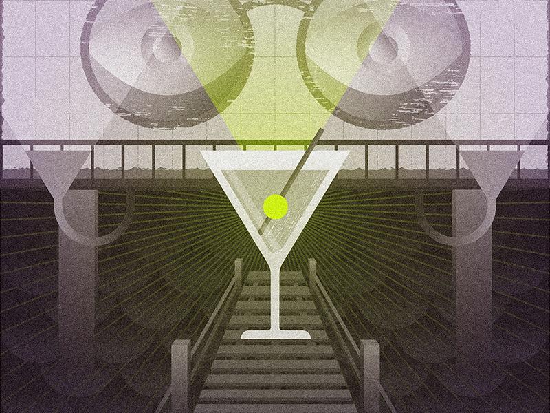 The Great Gatsby great gatsby gatsby martini light dock texture waves art deco billboard eyes