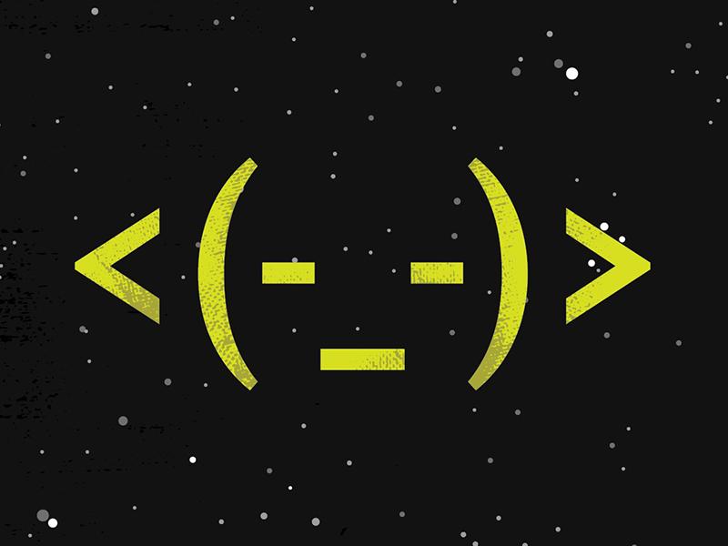 Yoda –Typographic jedi the force code typography star wars yoda