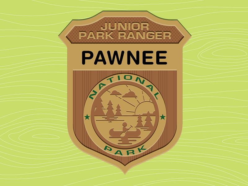 Parks & Rec: Jr. Park Ranger Badge illustration pawnee knope swanson recreation parks badge
