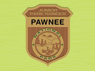 Parks & Rec: Jr. Park Ranger Badge