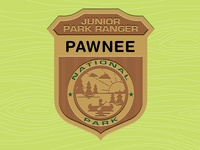 Parks & Rec: Jr. Park Ranger Badge