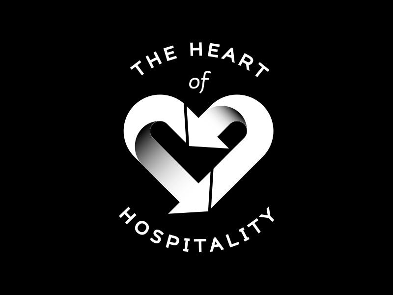 Heart of Hospitality arrow hospitality hotel recycling heart