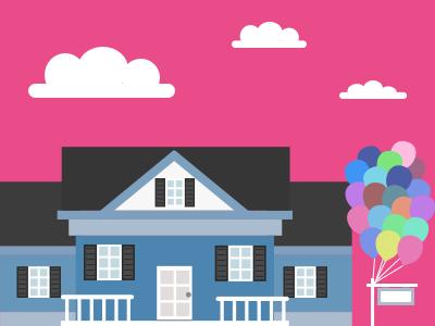 Thanks - Debut Shot balloons up debut house