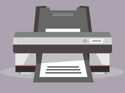 My Printer perspective ink toner printer