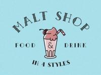 Malt Shop Font