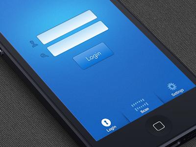 App Interface interface app mobile