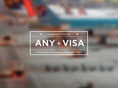 Visa agency logo logotype visa