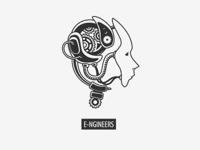 e-ngineers logotype logotype