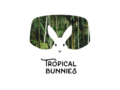 Tropical Bunnies Logotype