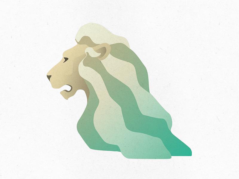 App Logo finance logotype logo lion