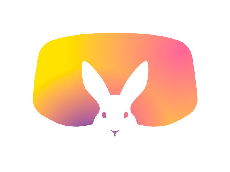 Tropical Bunnies Logotype Update bunnie vr headset vr logo logotype spherical photo 360 models tropicalbunnies