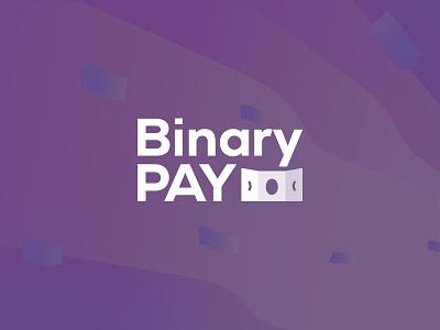 BinaryPay Logotype binarypay payment system logo logodesign logotype