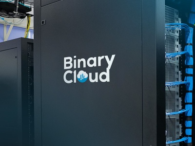 BinaryCloud Logotype new zealand binarycloud branding logo design logotype cloud hosting ecommerce