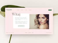 Natural Skin Clinic Website proposal