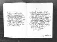 Fast Strokes - Sketchbook