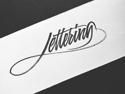 Lettering pentel pincel caligrafia calligraphy brush fast stroke lettering