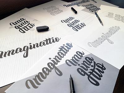 Branding sketches identidad identity marca branding brand calligraphy brush lettering