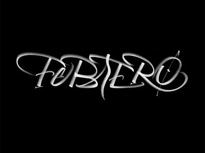 FEBRERO expressive calligraphy lettering brush febrero fast stroke caligrafia gestual