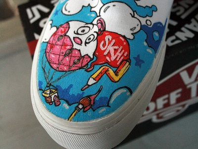 Vans Shoes Customize!