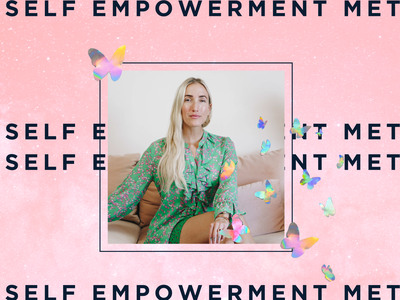 Natalia Benson Coaching Self Empowerment Method squarespace website butterflies holographic collage sales page coaching