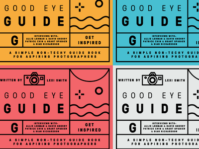 Good Eye Guide page layout typography pdf ebook