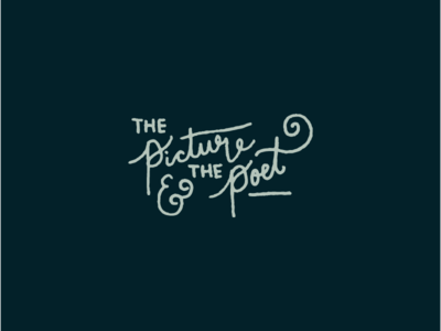 The Picture & The Poet Branding
