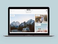 Rova Magazine Website