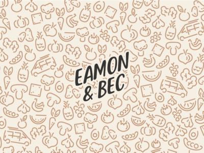 Eamon & Bec Logo youtube logo youtube creator logo creator