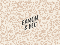 Eamon & Bec Logo