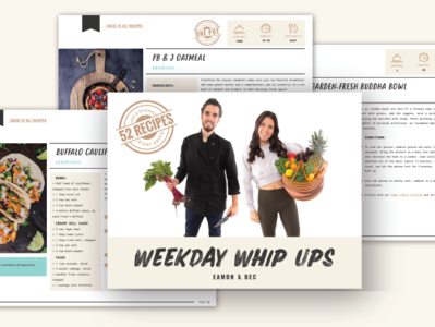 Weekday Whip Ups Cook book cook book