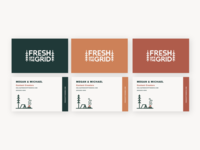 Fresh Off The Grid Business Cards