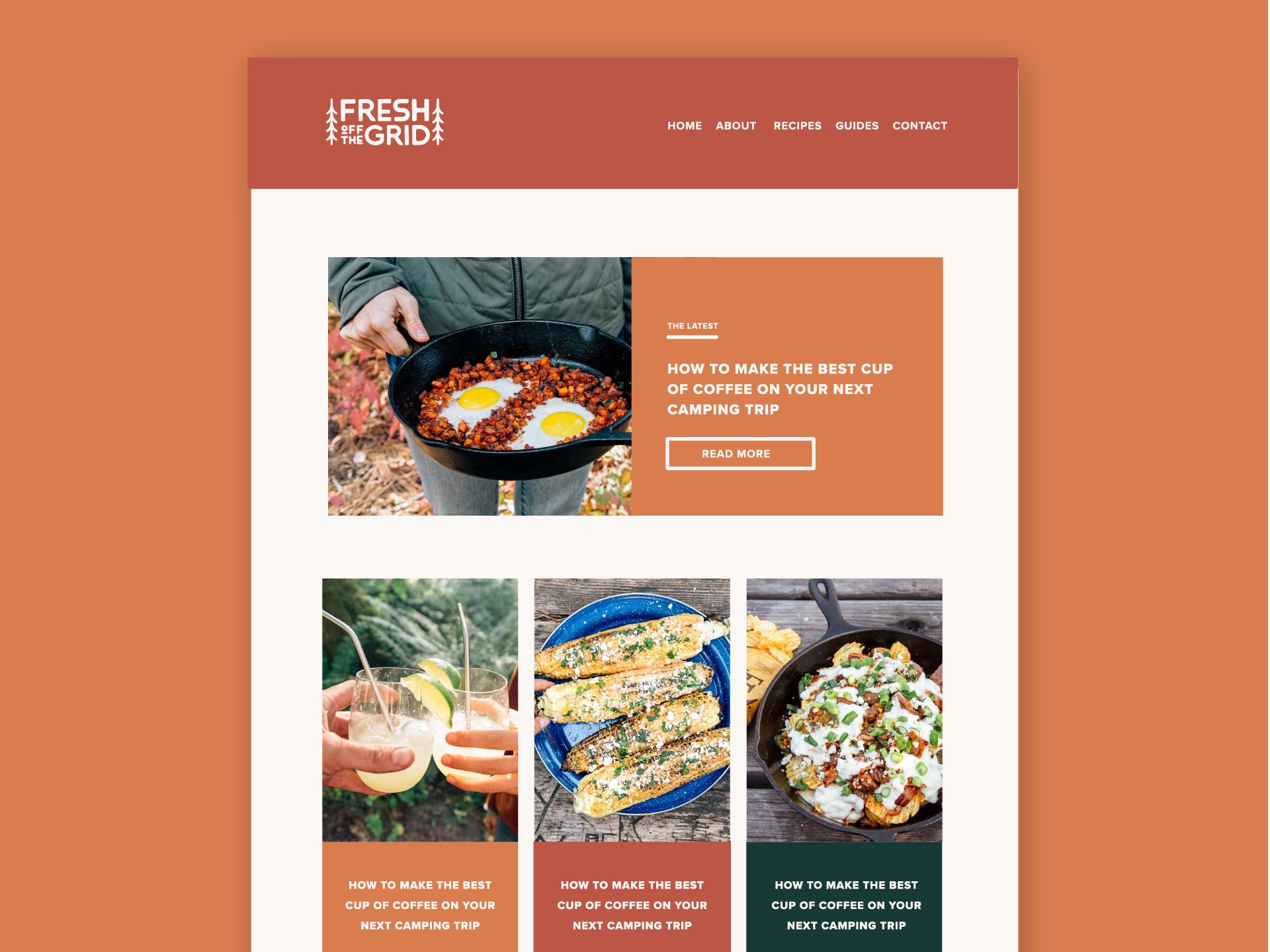 Fresh off website
