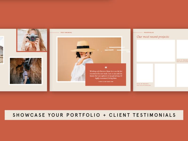Prcing + Services Guide Template template design design template template page layout page design editorial portfolio site portfolio template portfolio magazine portfolio page portfolio