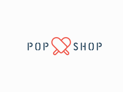 Pop Shop Logo popshop popsicles logo