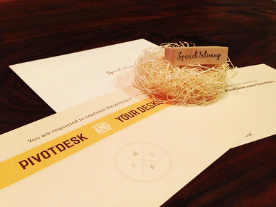 Wedding Invitations to Startup Founders