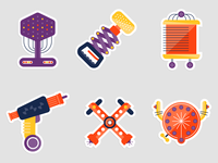 Spaceteam Tool Stickers