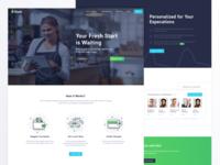 Mint Landing Page