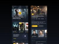 Movie app full view