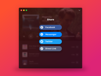 Compact Music Player (Share Concept)