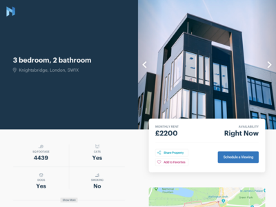 nuhomes - A Real Estate App Concept