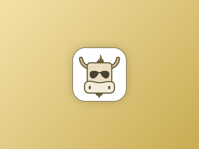 Fabulous Yak fabulous cool sunglasses brown cow icon app android yak