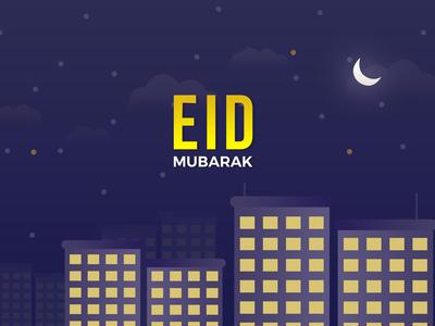 Eid Mubarak 4K Wallpaper