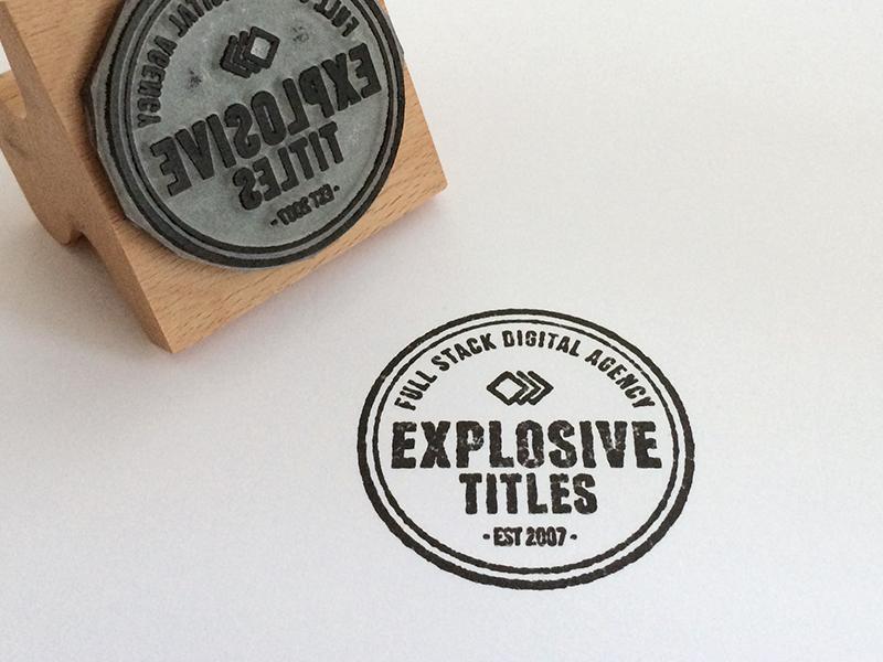 Stamp dribbble