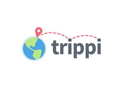 Travel Branding map earth journey trip travel logo branding
