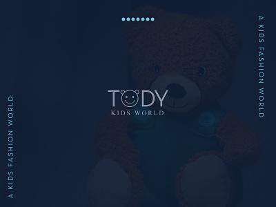 TODY Kids Fashion World   Branding Logo Design icon vector advertisment web logo flat minimal design graphic design branding