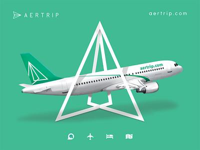 Aertrip poster design