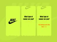 Nike App form design