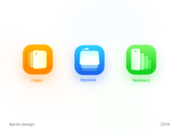 App Icon for iWork