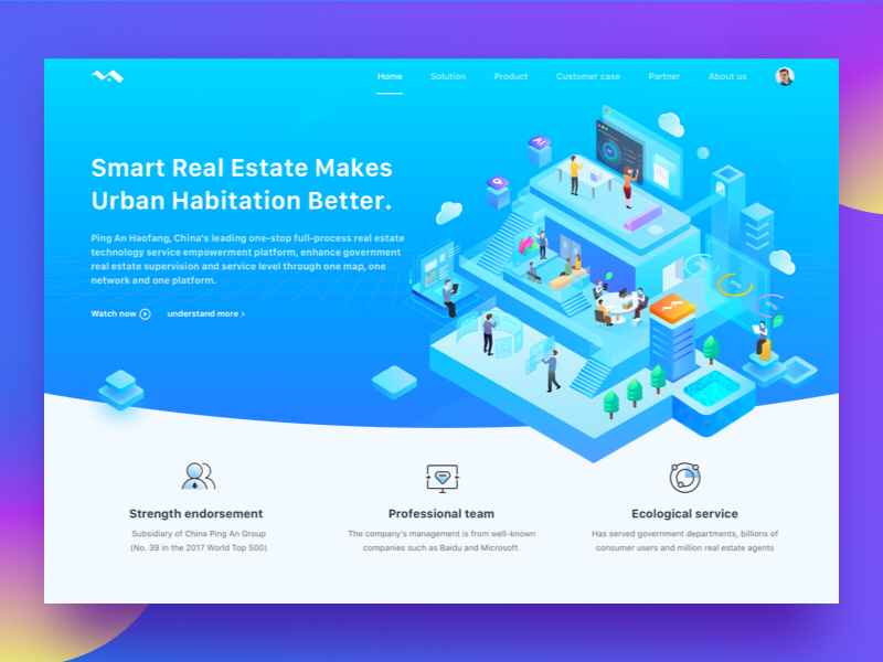 Smart City Home Design by Sheily on Dribbble